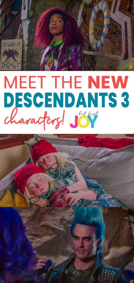 meet the new descendants 3 characters & see who is returning!