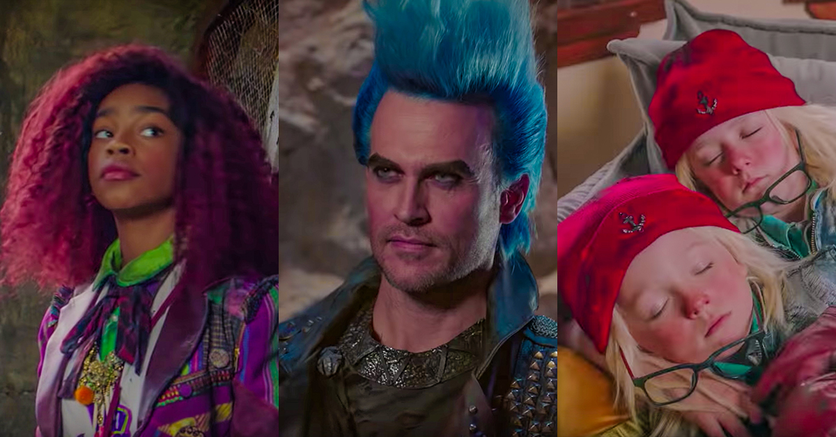 Meet the 4 New Descendants 3 Characters & Find Out Who is