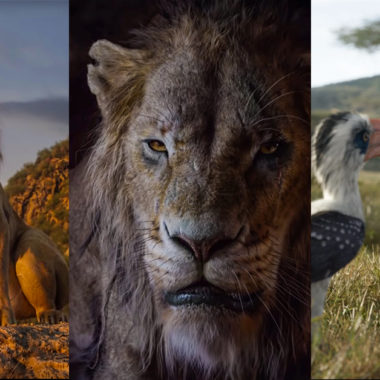 Get a First-Look at The Lion King Live Action Main Characters!