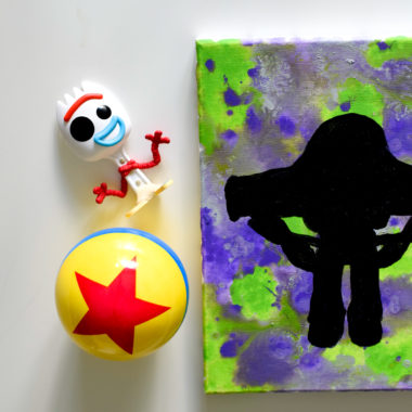 DIY Buzz Lightyear Watercolor Painting Craft + final Toy Story 4 trailer