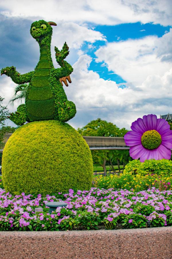 Figment Topiary Epcot
