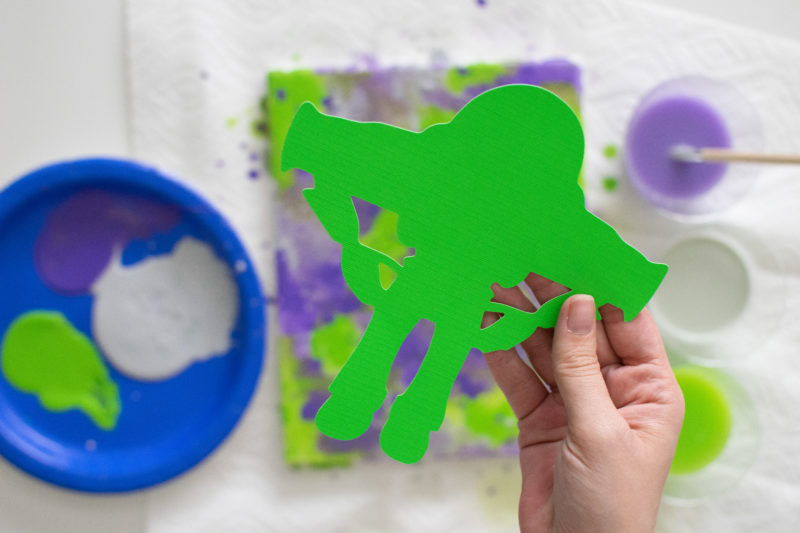 Easy Buzz Lightyear Craft