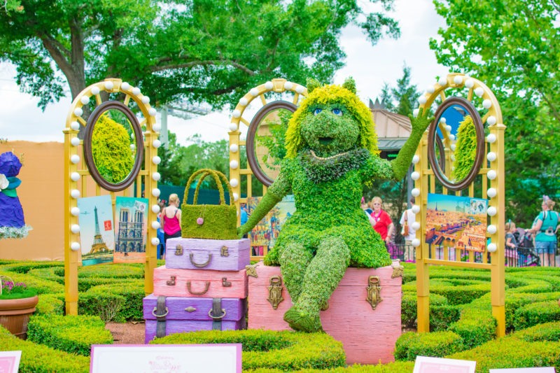 Miss Piggy Things to do 2019 Epcot Flower & Garden Festival