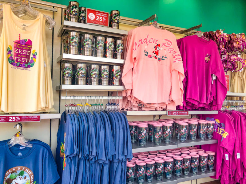 Prettiest Epcot Flower & Garden Merch