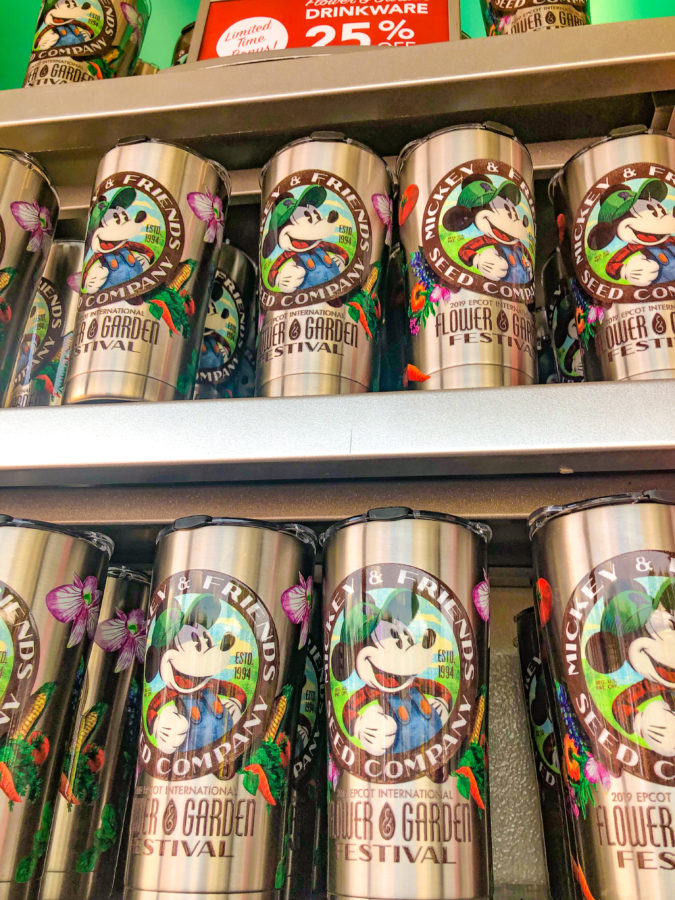 bottle Epcot Flower & Garden Merch