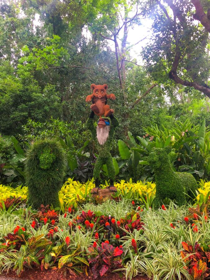 Epcot Flower & Garden Best Topiary