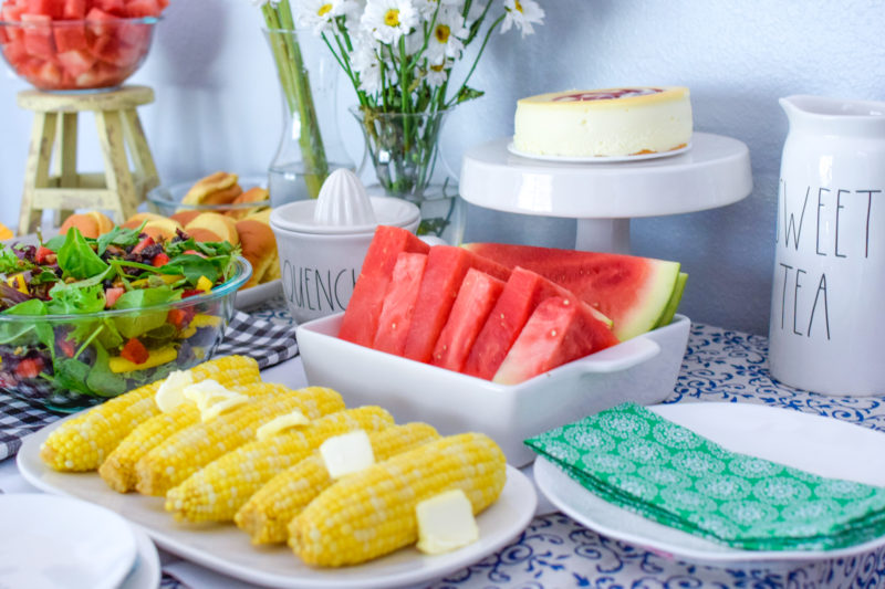 #ad Ever thought of throwing a produce party where each guest is assigned an in-season fruit or veggie to bring? Get your June in-season produce printable & plan a party with @freshfromFL ! #ProduceParty #FreshFromFlorida #EatLocal #FreshIsBest 🍉🌽