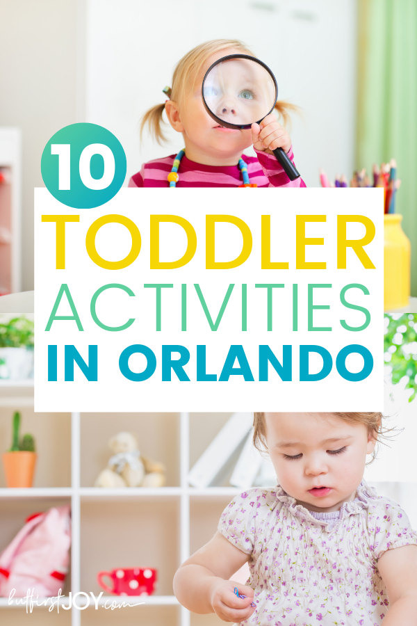 Best toddler activities in Orlando