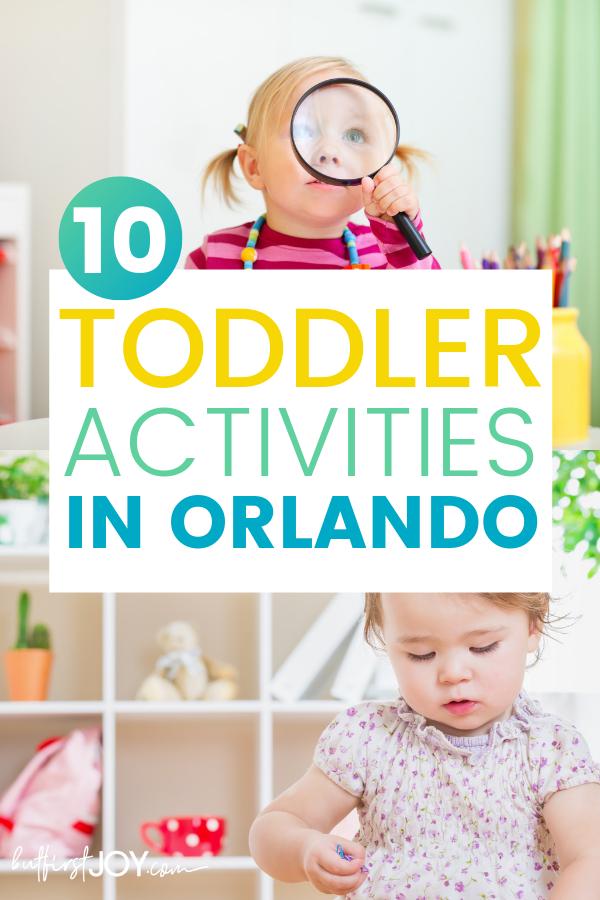 Best toddler activities in Orlando