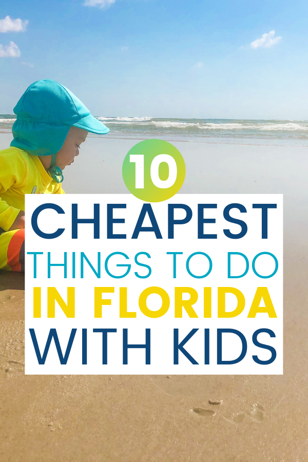 In this guide, I'm giving an insider's look at the cheapest things to do in Florida with kids. You will leave the home, have a blast, and spend very little!