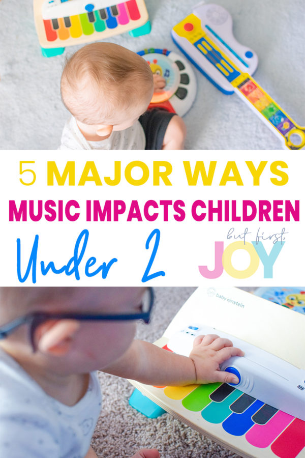 music impact children under 2