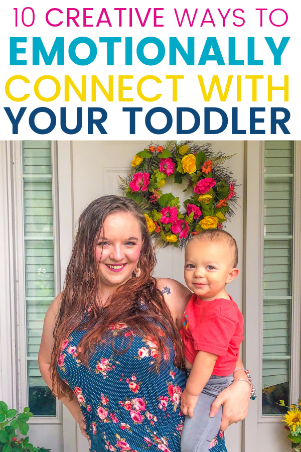 Are you wondering how to bond with your toddler? As parents, we can feel clueless sometimes. With these tips, you'll be emotionally connecting with your little one in no time!
