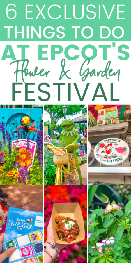 Everything you need to do at Epcot's International Flower & Garden Festival