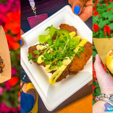 Are you looking for the best sweets, treats, and drinks to try at Epcot's Flower & Garden Festival? These are the must-try Epcot Flower & Garden food and drinks that I highly recommend.