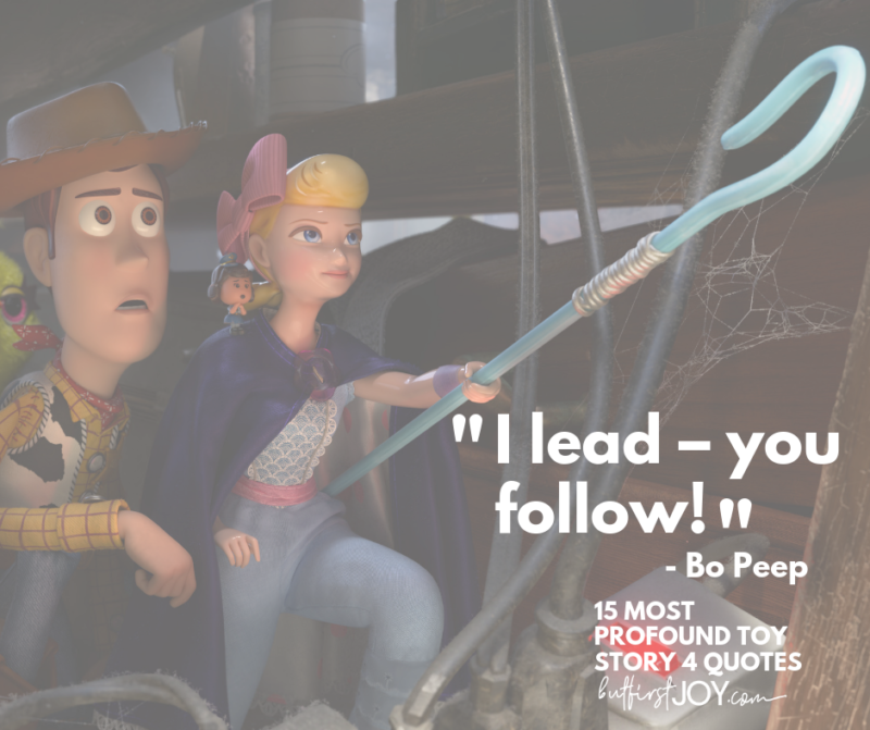 Best Toy Story 4 Bo Peep Quotes