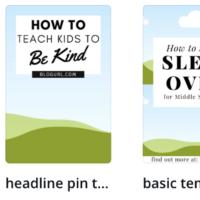 25 Canva Pinterest Template Bundle for $50 + FB Collage Bonus!