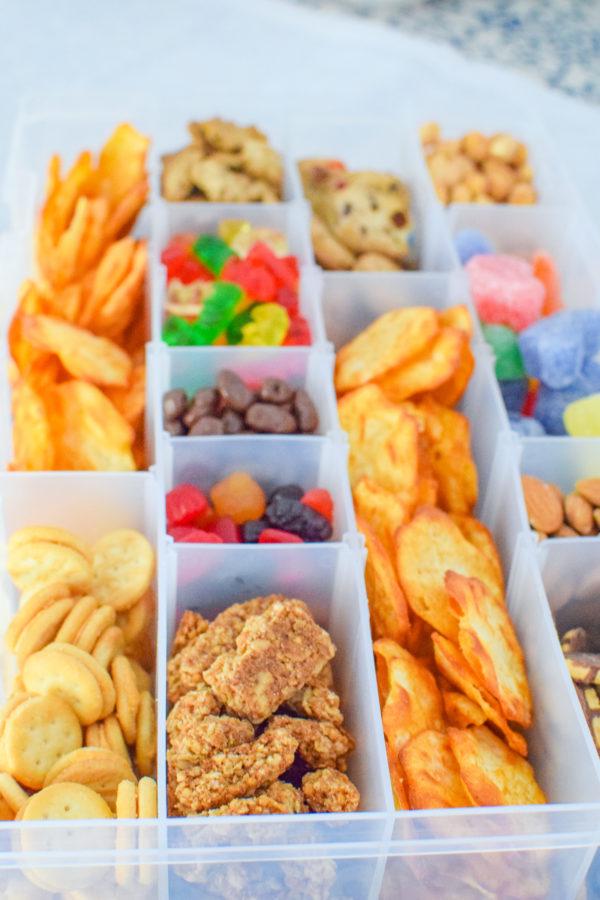 DIY Road Trip Snack Box