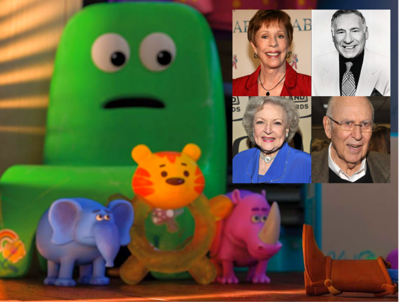 Toy Story 4 Comedians - Betty White, Carol Burnett, Mel Brooks, Carl Reiner