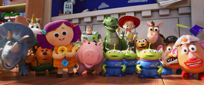 Toy Story 4 Comedians