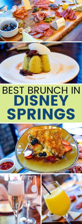 where to find brunch in disney springs