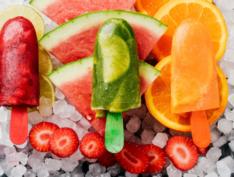 make summer fruit pops!