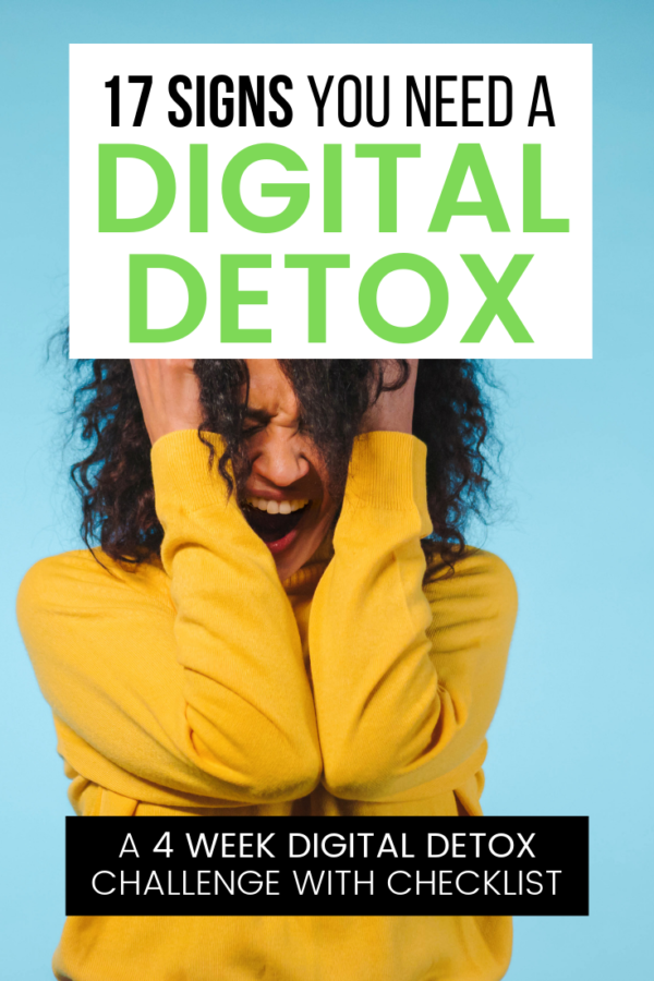 In this digital detox challenge I'll not only give you tips to take a break from technology; I'll teach you how to build more enjoyable online experiences.