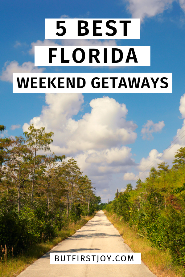 Whether you're planning a Florida vacation or a quick getaways, these are the best weekend trips in Florida for those who are budget-conscious.