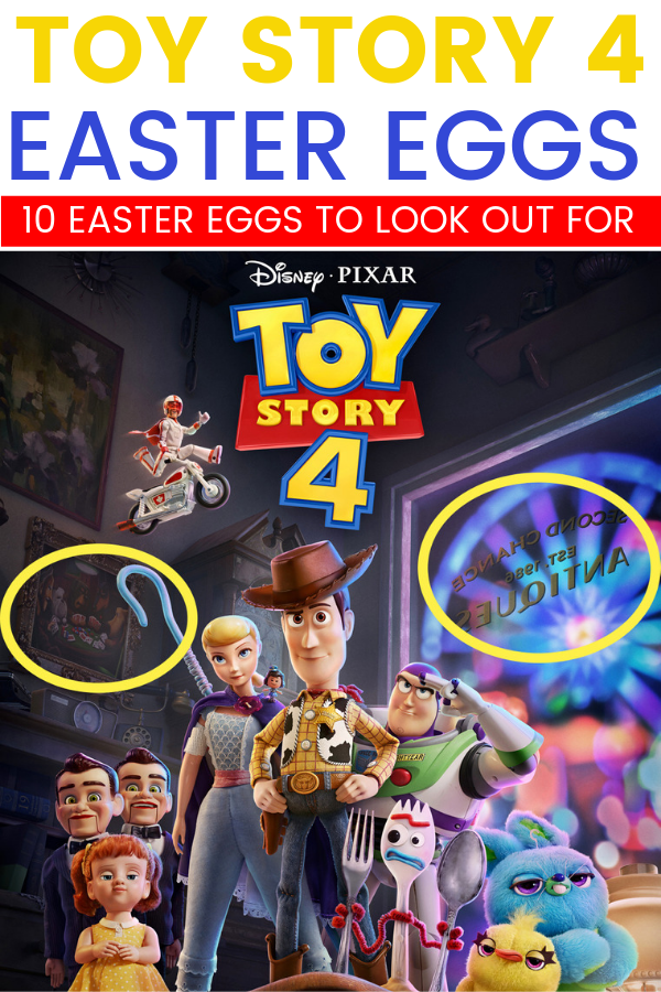 If you're wondering what Easter Eggs you're going to find in Toy Story 4 – I've got just a few for you to look for. Plus, there are some fun details for you to pay attention to.