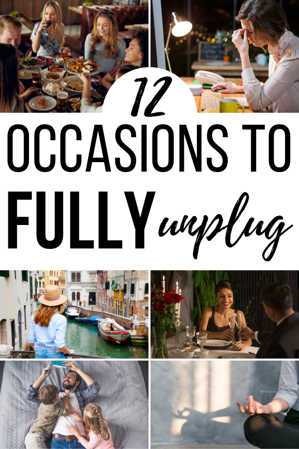 If you're looking for tips to unplug from technology, along with when it's important to unplug: this list of resources is for you.
