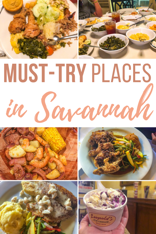 Beyond the history, Georgia is known for their divine food. Not only will we tell you where to eat in Savannah, but what to order.