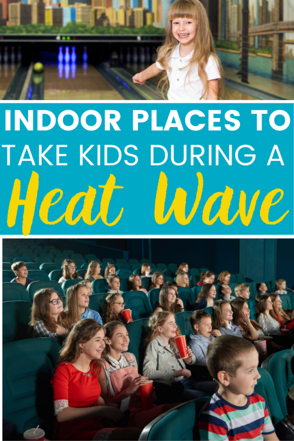 where to take children during a heat wave