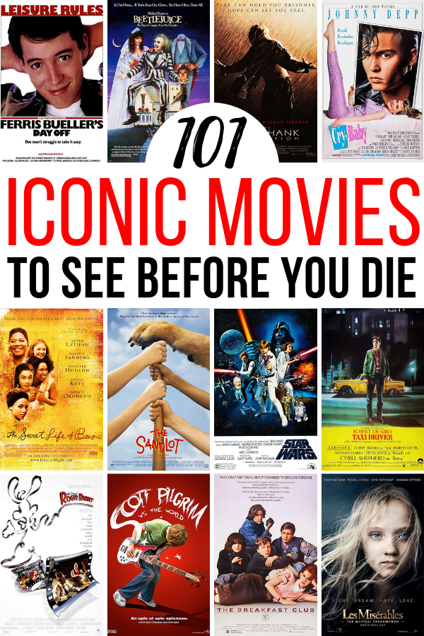 Every movie lover has a personal list of movies to watch before you die. There's classics, indies, and legendary films. Basically, you should add these 101 films to your list!