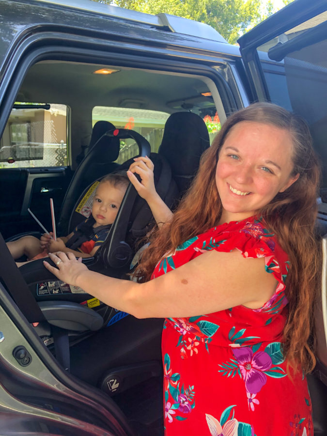 Keeping kids cool in the car