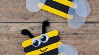 Bumble Bee Craft Preschool Kids Will Love