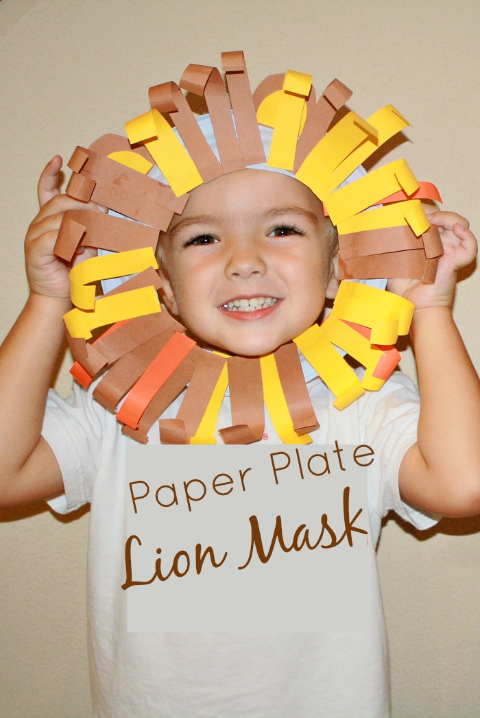3. Lion Mask - Fantastic Fun & Learning