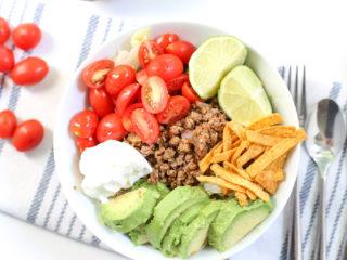 Perfect Keto Taco Salad Bowl Recipe