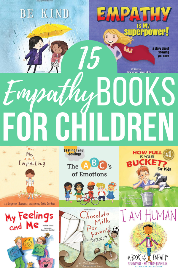 It's important that children learn kindness and compassion at a young age. With these empathy books for children, kids can learn how to identify and express emotions.