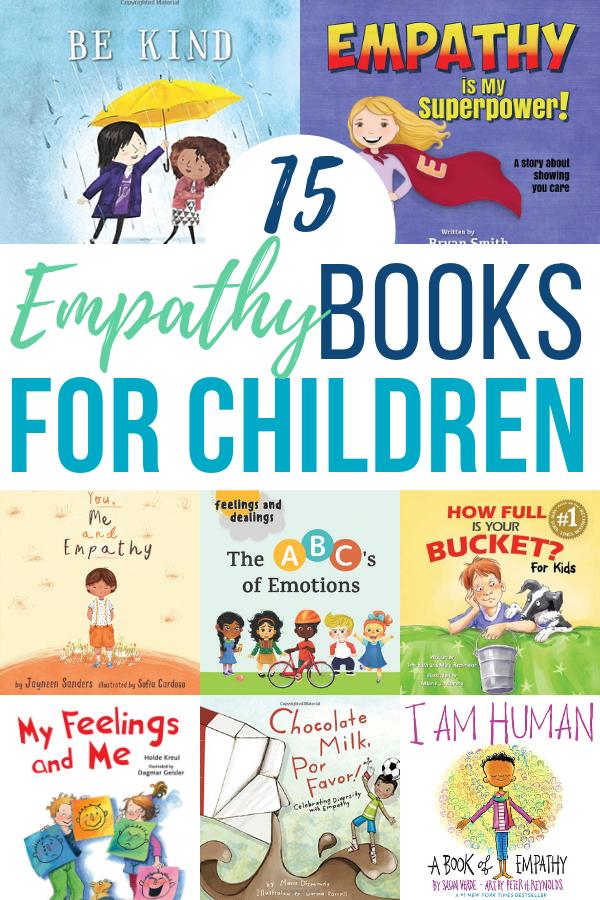 15 Empathy Books for Children to Understand Feelings