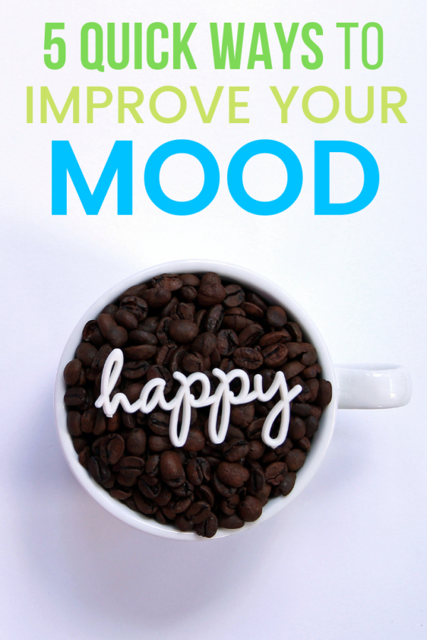 So, you're in a funk and you can't quite shake it. We've all been there before. Here are a few quick ways to improve your mood when you're having a bad day.