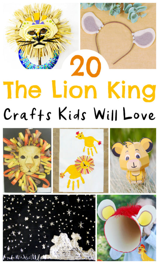 20 The Lion King Crafts To Celebrate The Live Action Movie