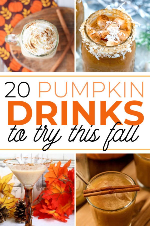 These pumpkin drinks are sure to get you in the spirit of fall!