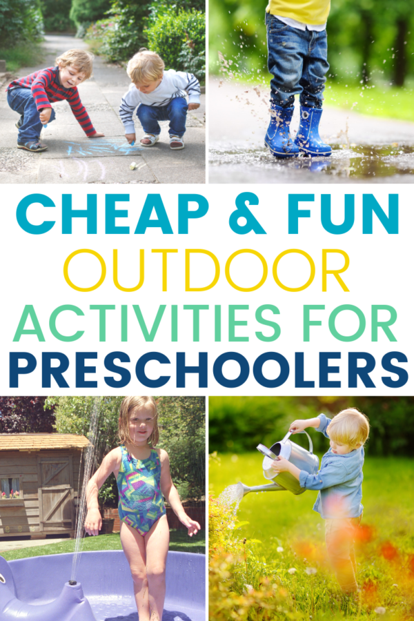 It's important to keep the kids of all ages busy, active, and educated all summer long. These summer outdoor activities for preschoolers will do just that!