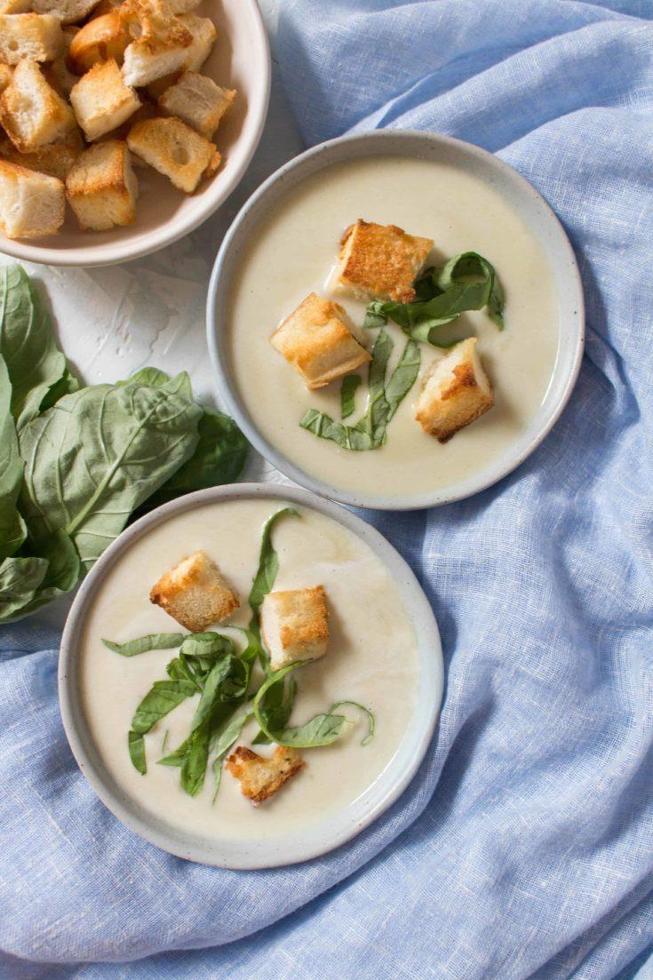 Thai Potato Leek Soup Recipe
