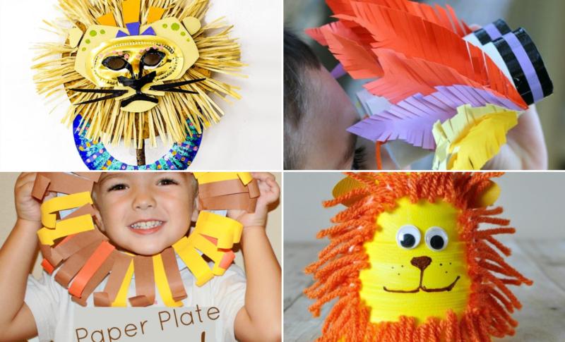the lion king kids crafts