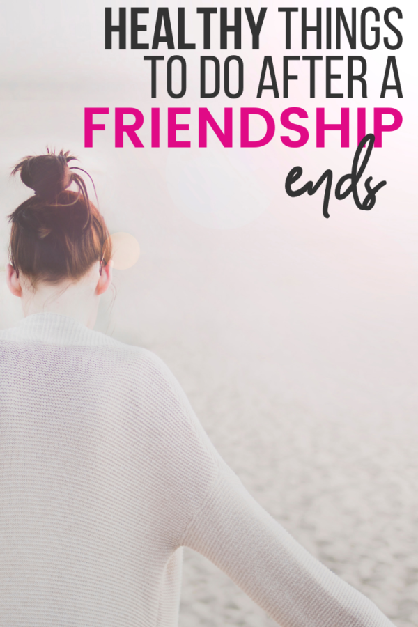how to handle a friendship ending