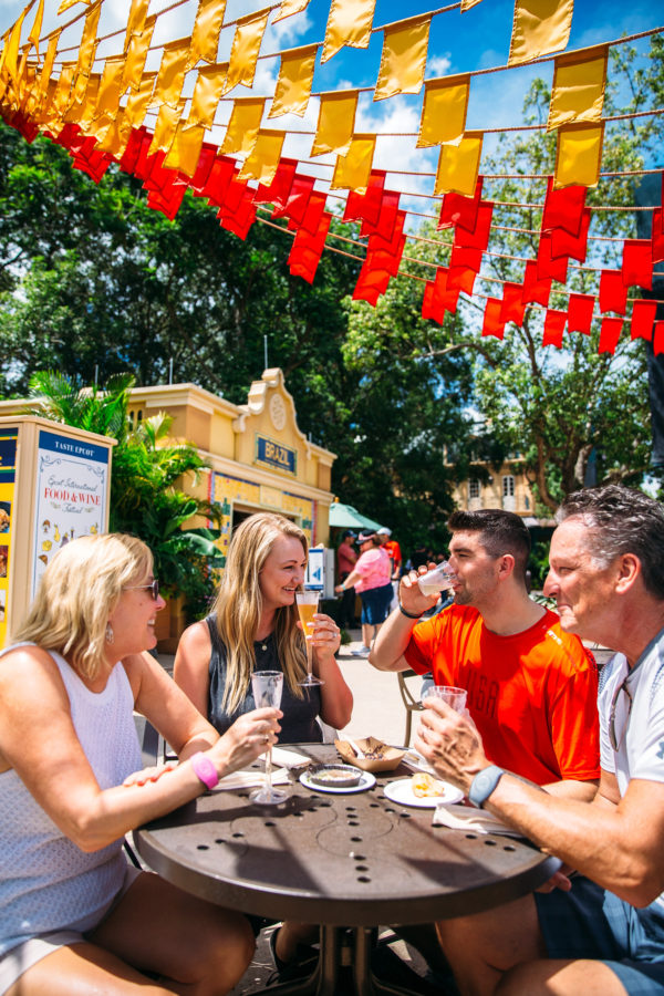 What to do at epcot in the fall