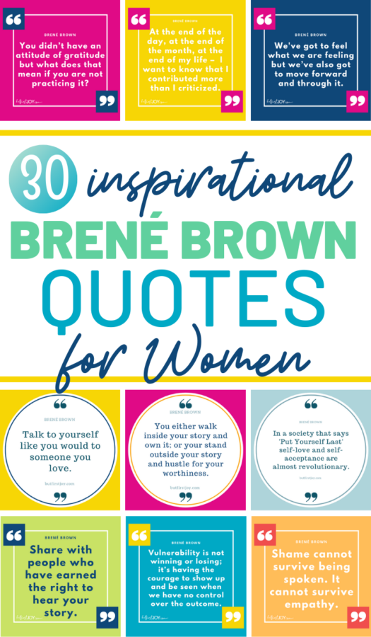 These are the Most Inspirational Brené Brown Quotes from her Ted Talks, Audibles, Books, and Talks! Find out who Brené Brown and where she's speaking next. #BreneBrown