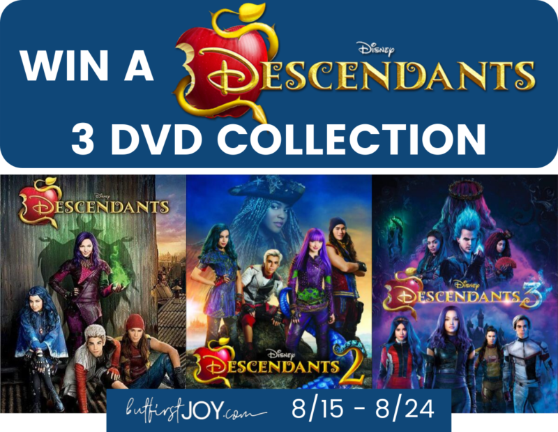 DESCENDANTS GIVEAWAY