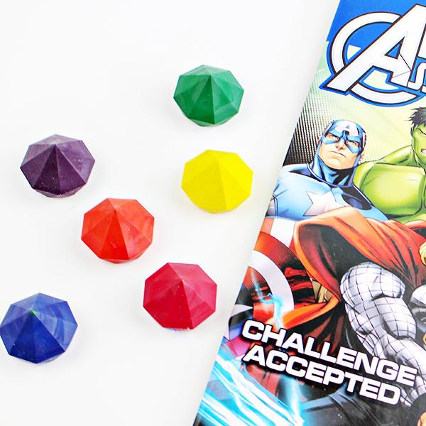 DIY Avengers Infinity Stones Crayons