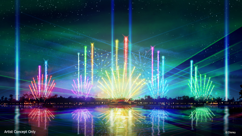 Epcot Forever Show this Fall at Epcot